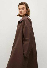 Mango - Classic coat - marron - 4