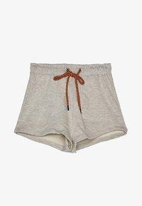 Bershka - MIT NEONFARBENER KORDEL - Shorts - light grey - 5