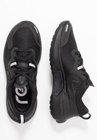 Nike Performance - REACT MILER - Obuwie do biegania treningowe - black - 1