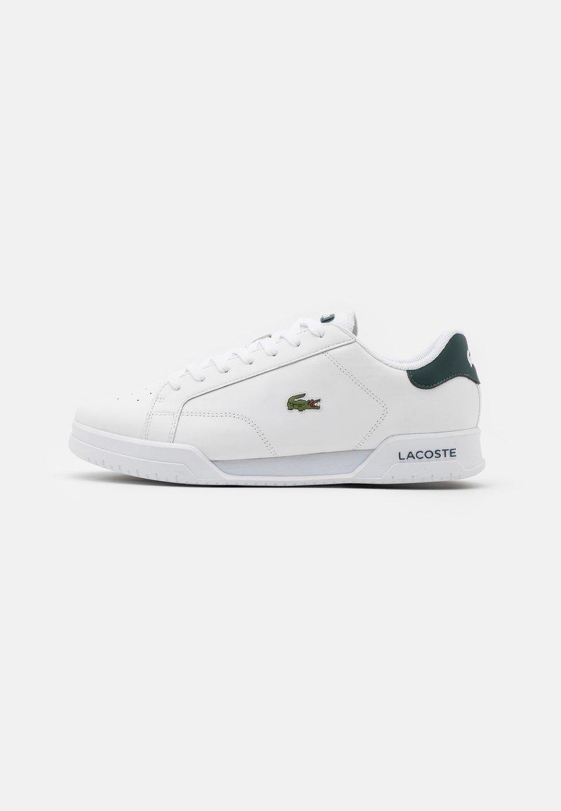 Lacoste - TWIN SERVE - Sneakers basse - white/dark green