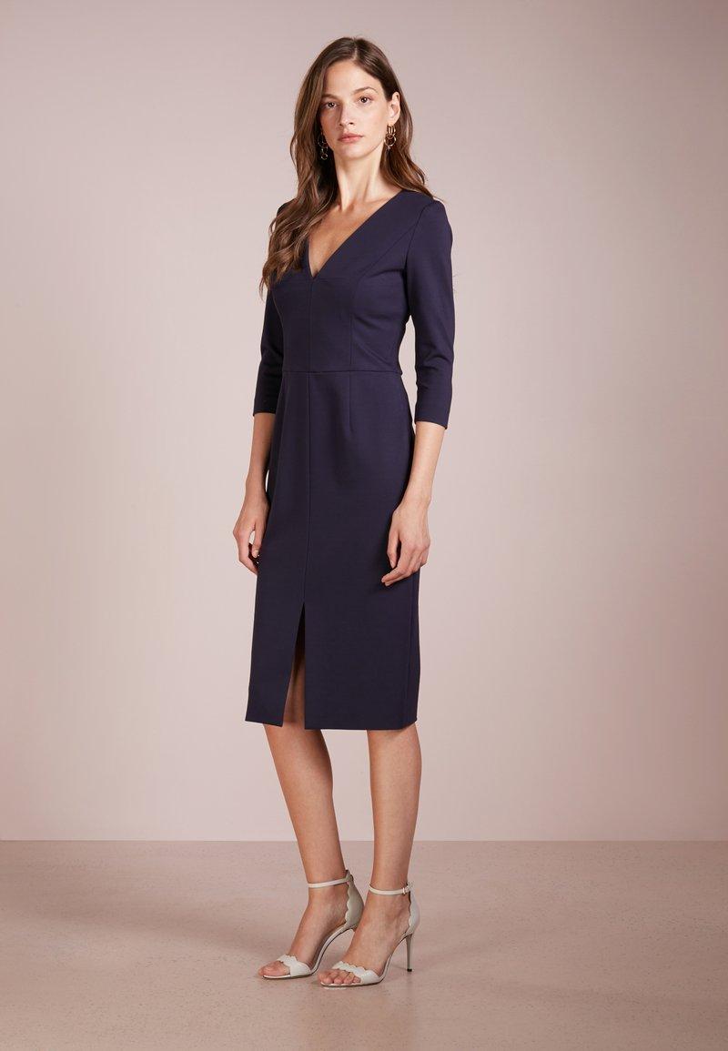HUGO - KALAYLA - Shift dress - open blue