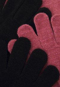 Name it - NKFMAGIC GLITTER GLOVES 2 PACK UNISEX - Gloves - deco rose - 2