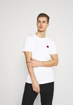 SLHANDRE O NECK TEE - Print T-shirt - white