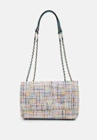 Guess - CESSILY CONVERTIBLE BODY FLAP - Handbag - multi - 0