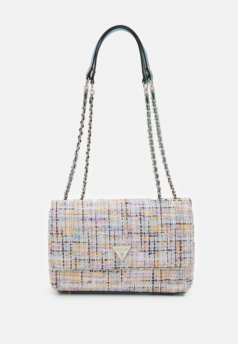 Guess - CESSILY CONVERTIBLE BODY FLAP - Handbag - multi