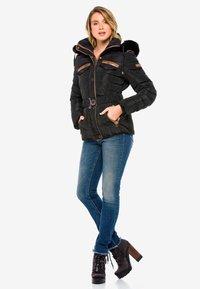 Cipo & Baxx - Winter jacket - black - 8