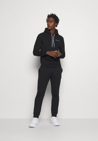 Champion - LEGACY HOODED - Bluza z kapturem - black - 1