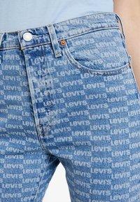 Levi's® - 501 CROP - Jeans Skinny Fit - light-blue denim/blue denim - 5