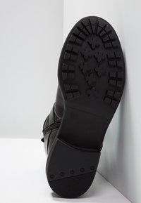 Vero Moda - VMVILMA BOOT - Cowboy- / bikerstøvlette - black - 6