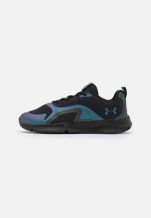 CHARGED OIL SLCK - Sports shoes - blackout purple