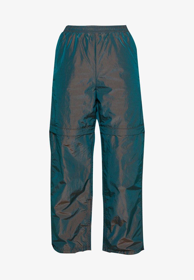 Weekday - KINNA TRACK TROUSER - Shorts - olive green