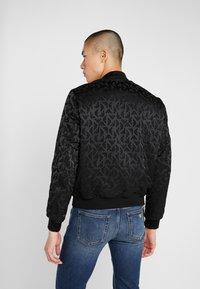 Emporio Armani - BLOUSON - Light jacket - nero - 2