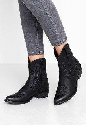 ANUBIS - Cowboy/biker ankle boot - vintage