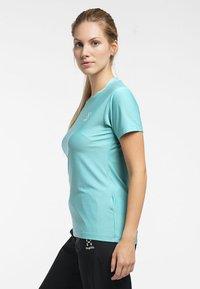 Haglöfs - L.I.M TECH TEE - Print T-shirt - glacier green - 2
