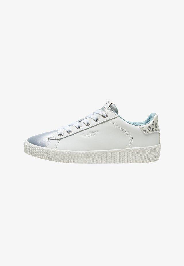 Sneakersy niskie - plata