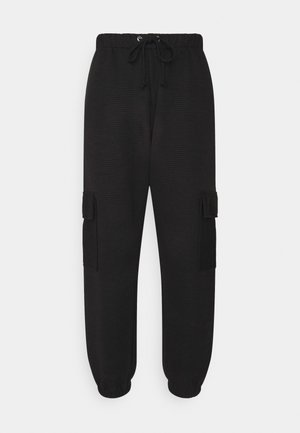 JOGGER UTILITY POCKET - Pantaloni cargo - black