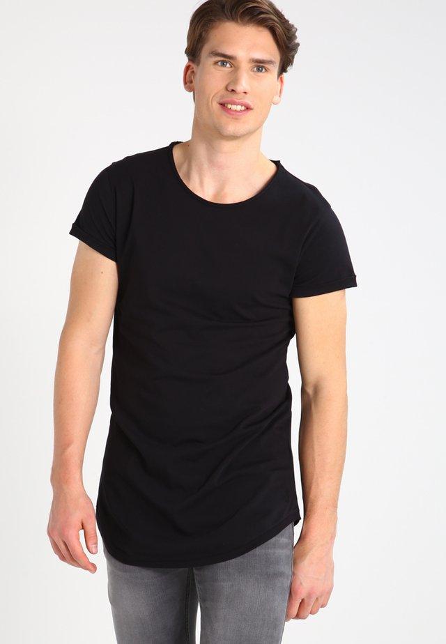 MIRO - Basic T-shirt - black