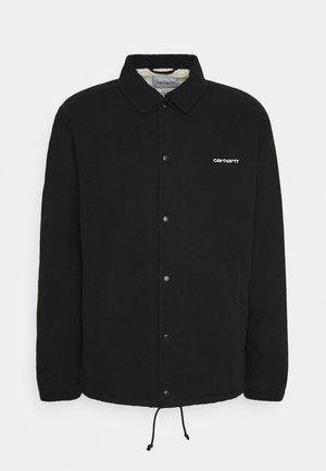 COACH JACKET - Light jacket - black/white