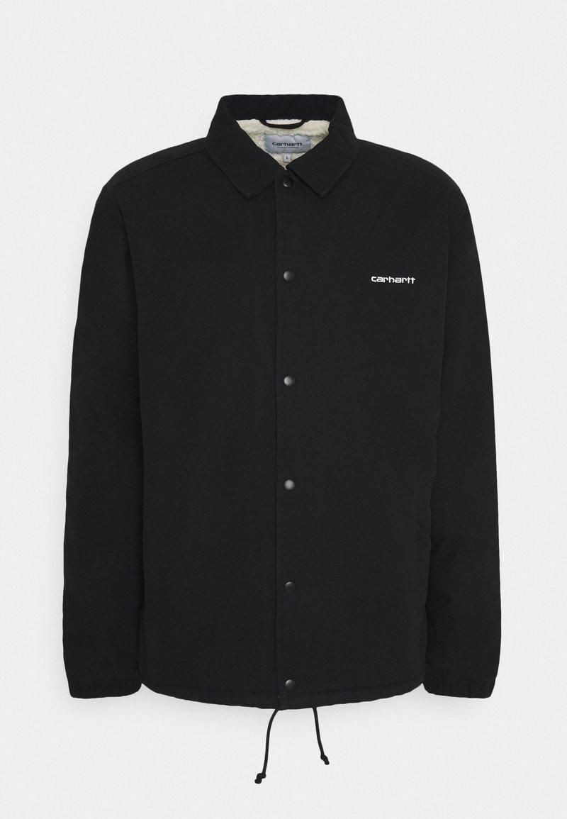 Carhartt WIP - COACH JACKET - Light jacket - black/white