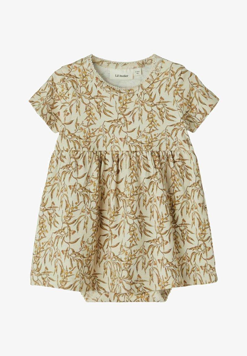 Lil' Atelier - Jersey dress - turtledove