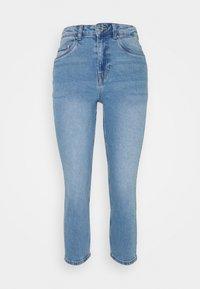 Vero Moda Petite - VMJOANA MOM - Džíny Straight Fit - light blue denim - 0