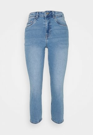 VMJOANA MOM - Straight leg jeans - light blue denim