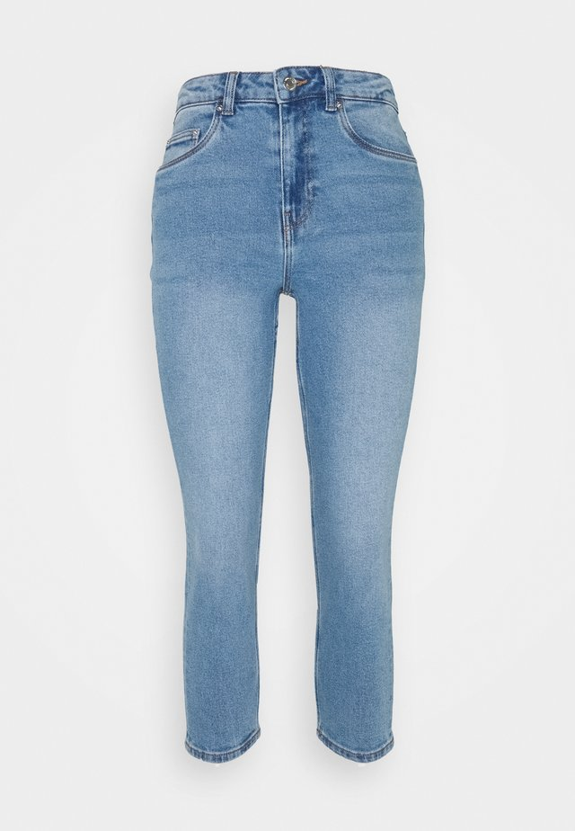 VMJOANA MOM - Jeans a sigaretta - light blue denim