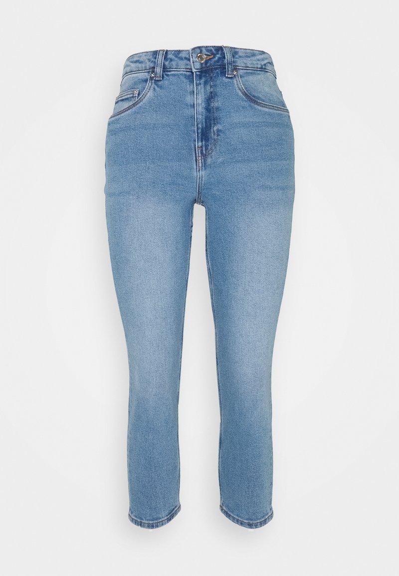 Vero Moda Petite - VMJOANA MOM - Džíny Straight Fit - light blue denim