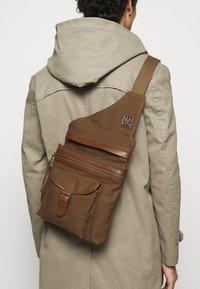 Belstaff - ALTON - Across body bag - beige - 1