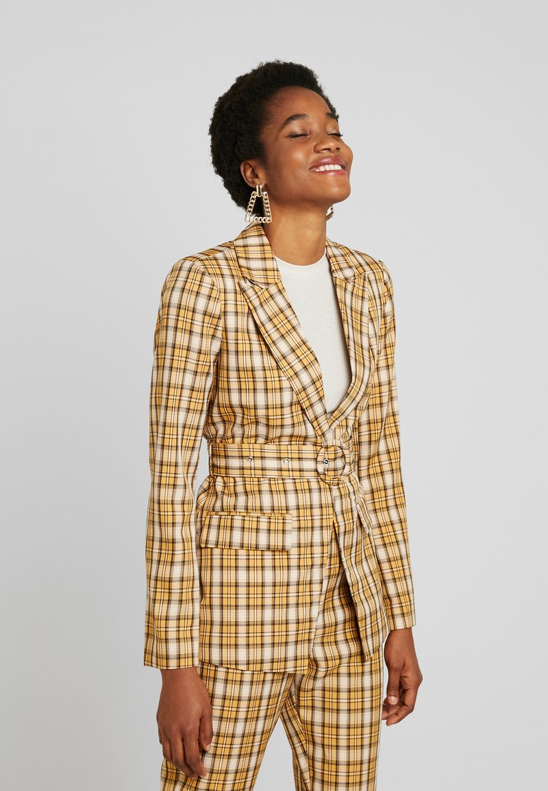 Fashion Union - CLUELESS JACKET - Blazer - yellow