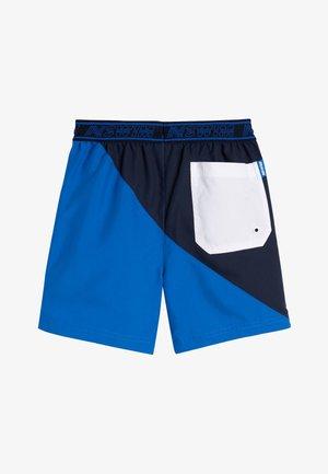BLUE COLOURBLOCK SWIM SHORTS (3-16YRS) - Swimming shorts - blue