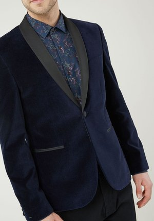 SLIM FIT - Blazer jacket - blue