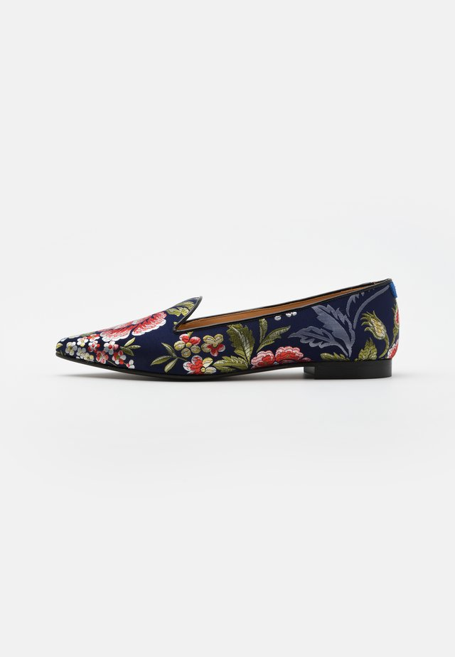 POINTY - Mocassins - navy blue