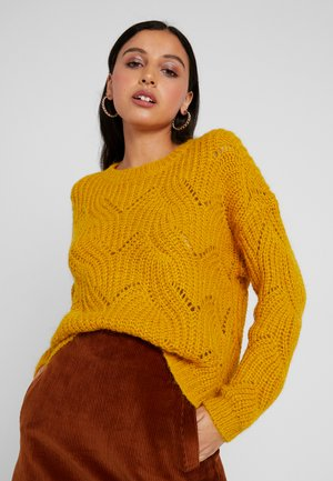 ONLHAVANA - Jersey de punto - golden yellow