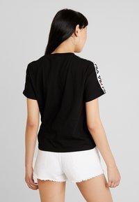 Fila - ADALMIINA TEE - Print T-shirt - black - 2