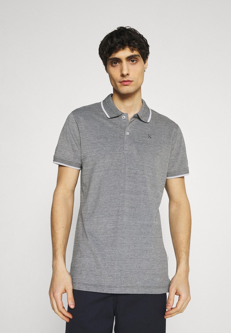 Casual Friday - Polo shirt - anthracite black