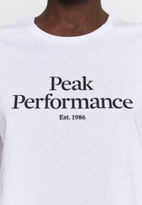 Peak Performance - ORIGINAL TEE - Print T-shirt - white - 4