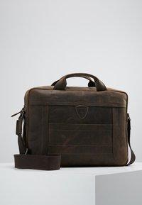 Strellson - HUNTER BRIEFBAG - Briefcase - dark brown - 0