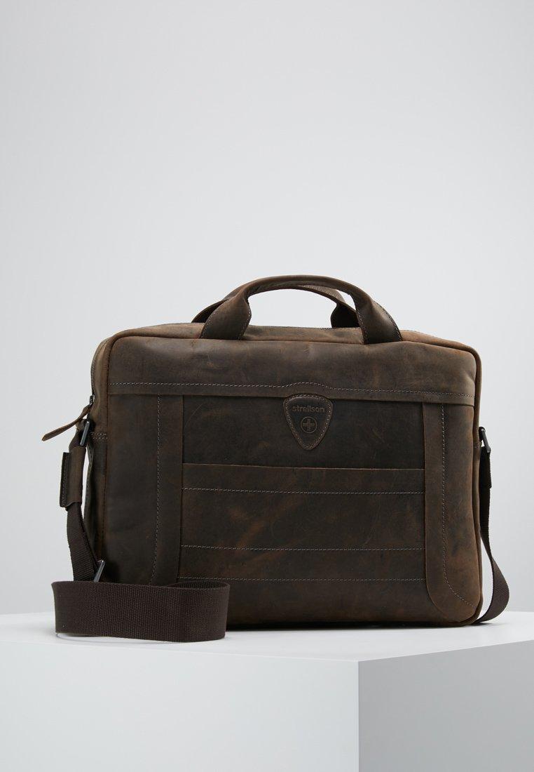 Strellson - HUNTER BRIEFBAG - Briefcase - dark brown
