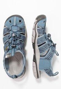 Keen - CLEARWATER CNX - Walking sandals - blue mirage/citadel - 1