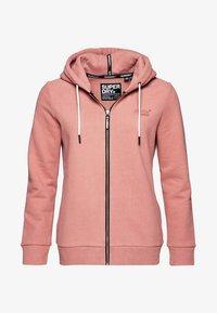 Superdry - ELITE ZIPHOOD - Zip-up hoodie - smoke rose - 5