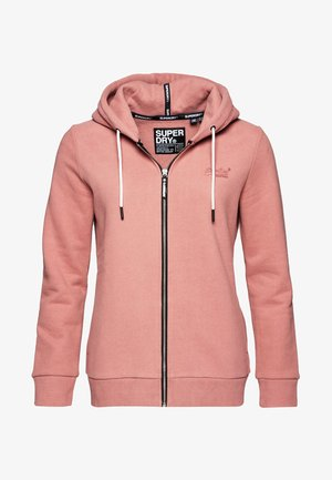 ELITE ZIPHOOD - Zip-up hoodie - smoke rose