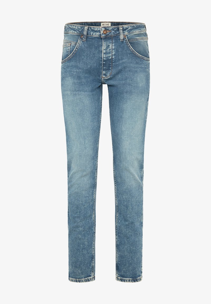 Mustang - Jeans Tapered Fit - denim blue