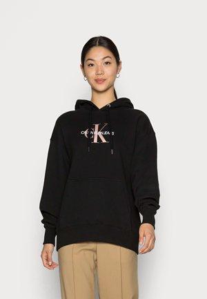 MID SCALE MONOGRAM HOODIE - Sweatshirt - black
