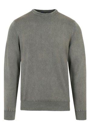 VINTAGE  - Stickad tröja - khaki
