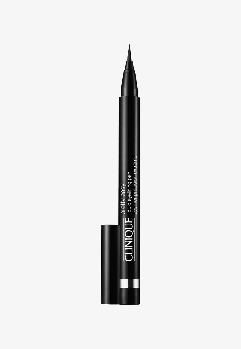 Clinique - PRETTY EASY LIQUID EYELINING PEN - Eyeliner - 01 black