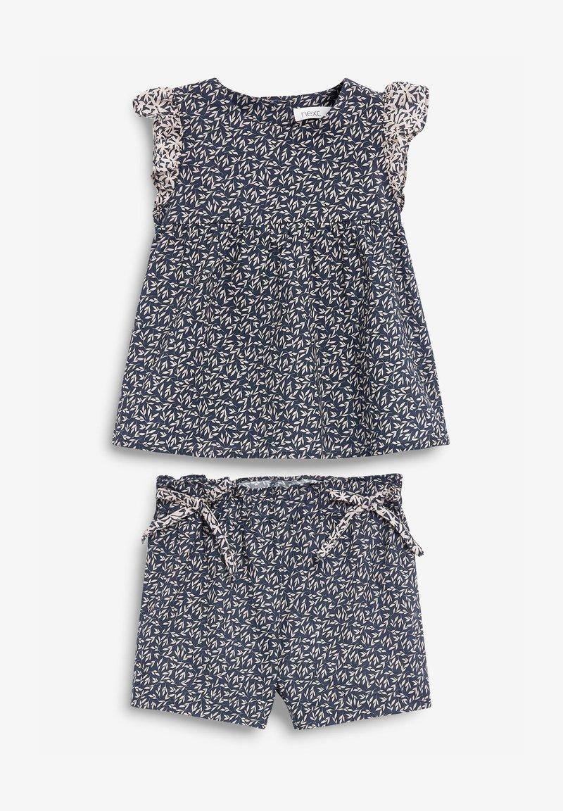 Next - SET - Shorts - dark blue