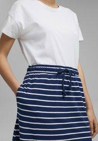 Esprit - A-line skirt - dark blue - 4