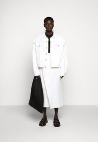 MM6 Maison Margiela - JACKET - Giacca di jeans - off white - 1