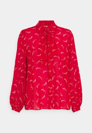 SIGNATURE LOGO - Blouse - crimson